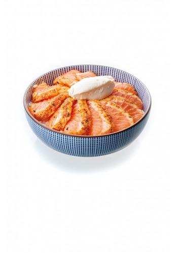 Chirashi tataki saumon