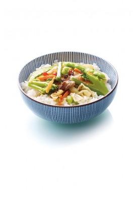 Donburi aux légumes