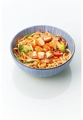 Yakisoba Poulet Pané Légumes