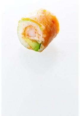 Green crevette tempura