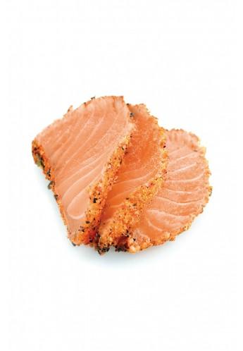 Tataki saumon épicé
