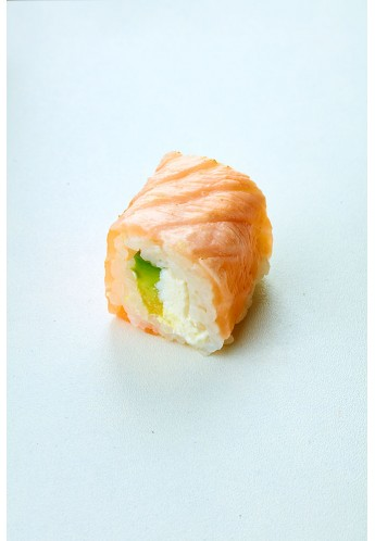 Maki salmon avocat cheese braisé