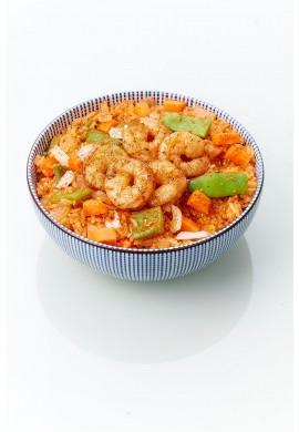 Riz Kimchi aux Crevettes