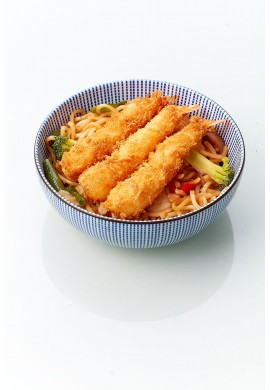 Yakisoba Crevette Tempura Légumes