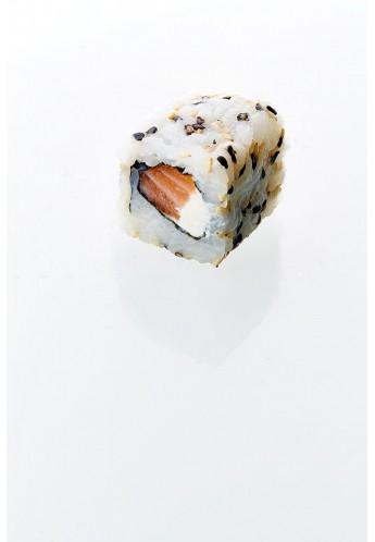 California saumon, fromage frais